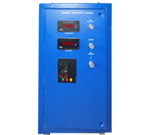 Variable Voltage, Current Variable Frequency Tester